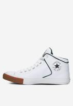 Converse - Chuck Taylor All Star high street mid - white / midnight clover /honey