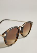 MANGO - Aqua sunglasses - dark brown