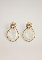 MANGO - Klaus earrings - gold