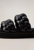 MANGO - Bri sandal - black