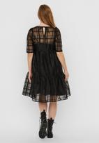 Vero Moda - Vava 2/4 dress - black