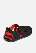 adidas Originals - Fortaswim 2 sandals - black & red