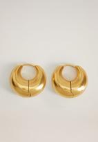 MANGO - Bach earrings - gold