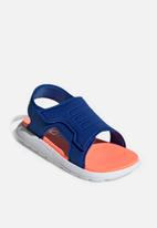 adidas Originals - Comfort sandals - blue & coral