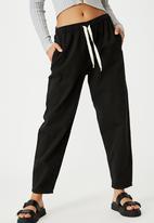 Cotton On - Everyday pant - black