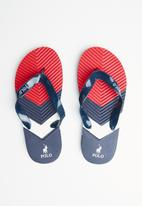 POLO - Boys jack chevron flip flop - multi