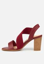 Butterfly Feet - Foxtrot heel - red
