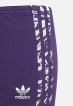 adidas Originals - Solid leggings - purple