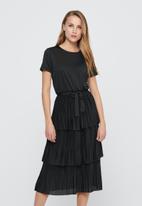 Jacqueline de Yong - Fikka frill dress - black