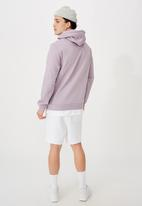 Factorie - Basic hoodie - light purple