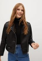 MANGO - Jacket liz - black
