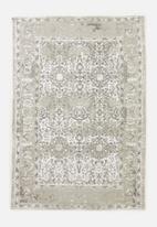 Sixth Floor - Antique printed rug - grey