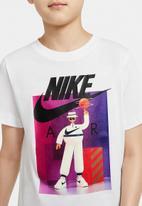 Nike - Boys Nike sportswear Air tee - white