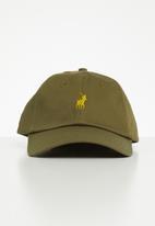 POLO - Parker classic peak cap - khaki