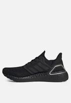 adidas Performance - Ultraboost 20 - core black & silver metallic