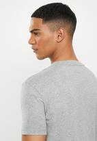 Replay - Grey center chest tee - grey