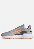adidas Performance - Crazychaos shoes - grey two / signal orange / legacy blue