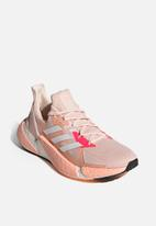 adidas Performance - X9000l4 shoes - pink tint / cloud white / signal pink