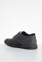Grasshoppers - Tommy leather shoe - charcoal