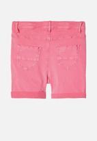 name it - Salli twibatella hw shorts - pink