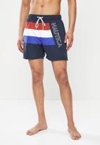 Nautica - 3 Stripe swimshort - multi