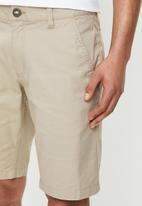 Fox - Essex 2.0 chino short - stone