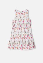 name it - Vigga spencer dress - bright white