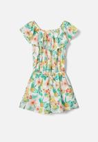 name it - Vinaya short sleeve playsuit - snow white