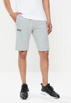 Superdry. - Core sport shorts - grey