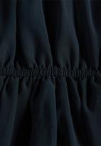 name it - Vilusi ruffle trim dress - navy