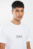 Vans - Vans easy box short sleeve  tee - white & black
