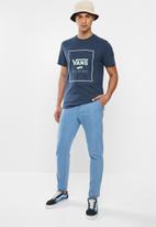 Vans - Print box tee - blue