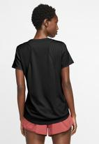 Nike - Nike running T-shirt - black