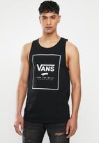 Vans - Print box tank - black & white