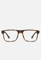 Emporio Armani - Twin lense set sunglasses 54mm - brown