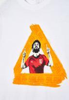adidas Performance - Mohamed Salah short sleeve tee - white