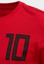 adidas Performance - Salah 10 short sleeve tee - scarlet