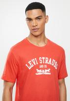 Levi's® - Two horse graphic tee - poppy red