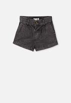 Cotton On - Cassidy shorts - black wash