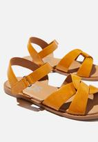Cotton On - Fisherman weave sandal - honey gold
