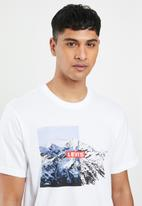 Levi's® - Short sleeve relaxed fit bi photo scenic tee - white