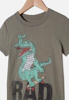 Cotton On - Max short sleeve tee - silver sage