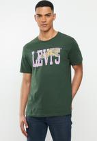 Levi's® - Graphic crewneck bi poster tee - python green