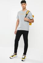 Levi's® - Short sleeve relaxed fit linear logo tee - grey