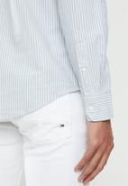 Levi's® - Sunset 1 pocket Amelie stripe standard - blue & white