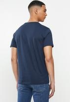 Levi's® - Two horse graphic box tee - dress blues