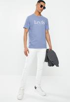 Levi's® - Short sleeve relaxed fit small bw tee - dress blues