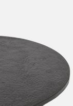 Sixth Floor - Oslo side table - charcoal