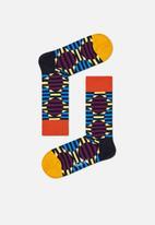 Happy Socks - Optic dot socks - brown