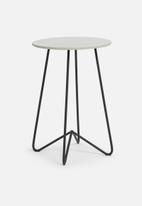 Sixth Floor - Simple side table - grey